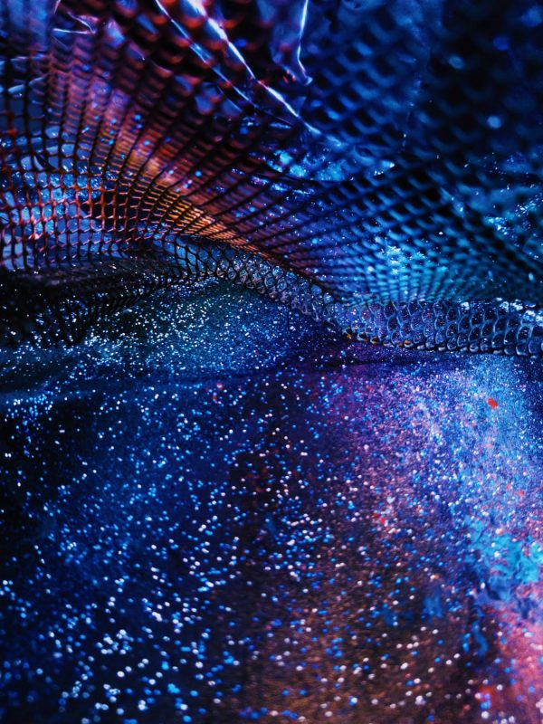 abstract colorful background of night star
